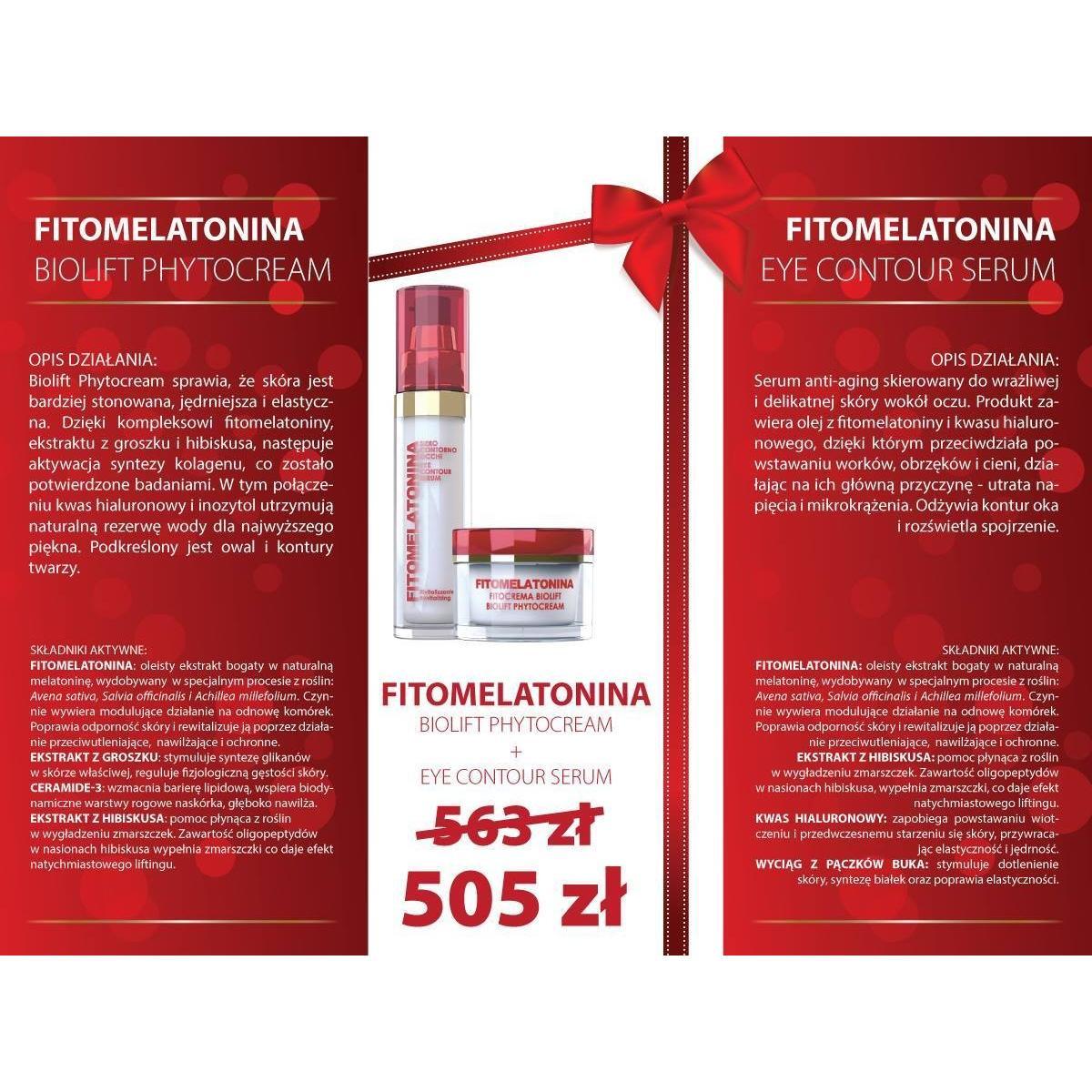 BIOLIFT PHYTOCREAM 50 ml + EYE CONTOUR SERUM 30 ml